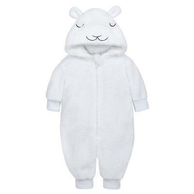 Baby Unisex Snuggle Fleece Lightweight  All In One Little Lamb  Newborn To 9-12M