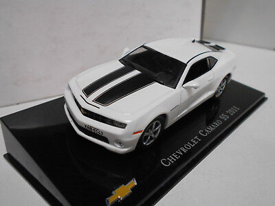 Chevrolet Camaro Ss 2011 Collection Chevrolet #11 Brasil Salvat Premium 1/43