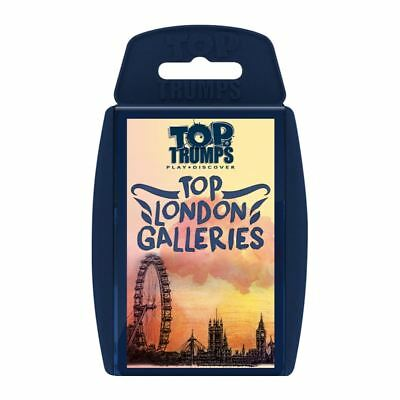 Top London Galleries Top Trumps Card Game
