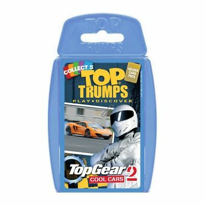 Top Gear Cool Cars 2 Top Trumps Card Game