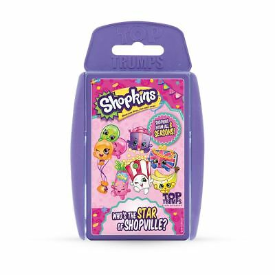 Shopkins Top Trumps Card Game 2017 Edition