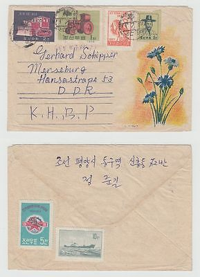 Korea Old Cover To Germany 1960 !!