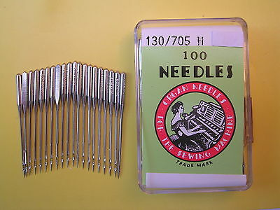 20 Silver Organ Domestic Sewing Machine Needles 90/14 Also Fit Other Makes