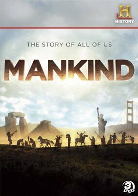 MANKIND THE STORY OF ALL OF US New Sealed 3 DVD Set Miniseries History Channel