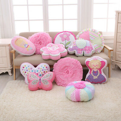 Cotton Cartoon Baby Pillow Cushion Kids Child Bed Sofa Room Decor Christmas Gift