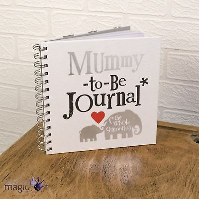 Really Good Bright Side Mummy To Be Journal Notebook Diary Mum Baby Shower Gift