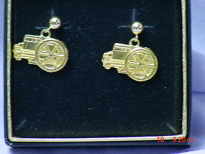 John Deere Engine Pierced Post Earrings, New