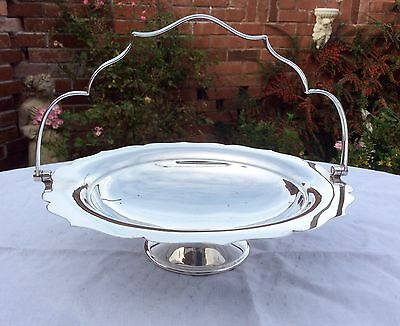 Fine Quality Antique MAPPIN & WEBB Silver Plated Handled Table Basket C.1900