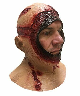 BLOODY HOOD MASK Overhead Latex Jason Halloween Horror Movie Fancy Dress Masks