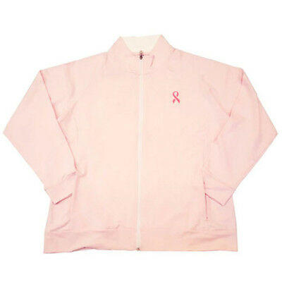 2016 Bermuda Sands Womens Misty Pink Ribbon Golf Jacket NEW