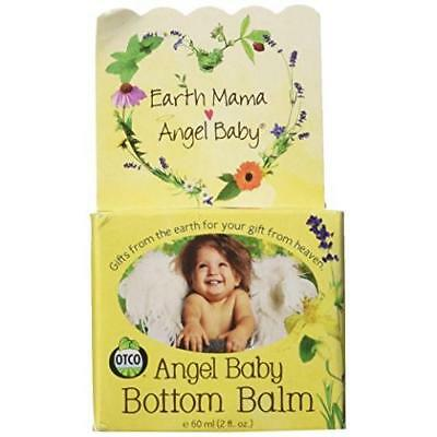 Angel Baby Bottom Balm Natural Cloth Diaper Cream (2 Fl. Oz.) New