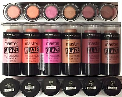 Maybelline Master Glaze By Face Studio Blush Stick- Choice of Colors