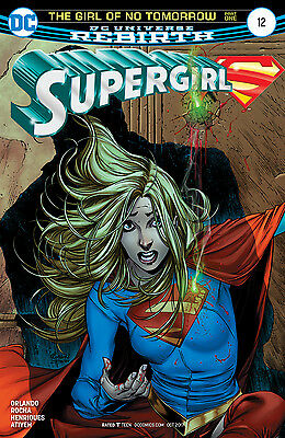 SUPERGIRL #12, New, First print, DC REBIRTH (2017)