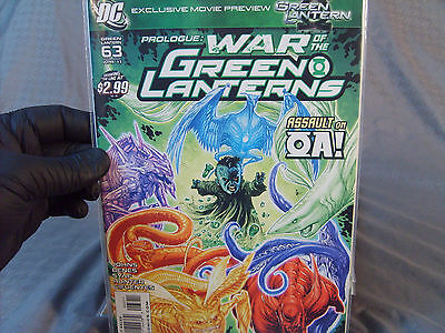 War Of The Green Lanterns Parts 1-10 + Prologue + Aftermath Complete 2011 DC