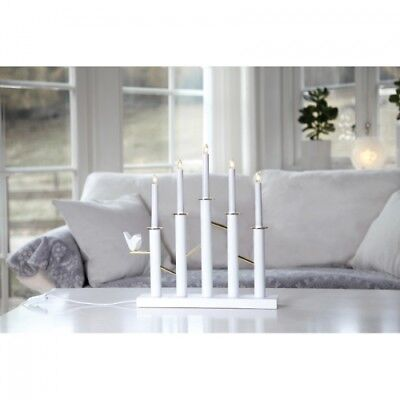 LED-Weihnachtsleuchter, BIRDY CANDLESTICK, 5 LEDs