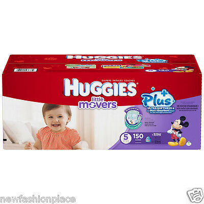 Huggies Snug & Dry Plus Nappies SIZE 5 - 150