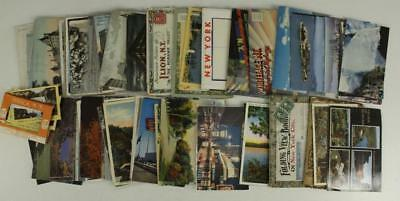 Vintage Paper Postcards Vintage to Modern NEW YORK NYC Ithaca Albany Linen 50PC+