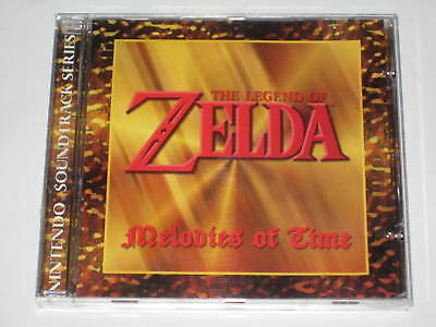 The Legend Of Zelda-Melodies Of Time / Promo 12-Track Cd 2003 Nintendo / Rare