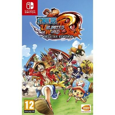 One Piece Unlimited World Red Nintendo Switch Game - Brand New!