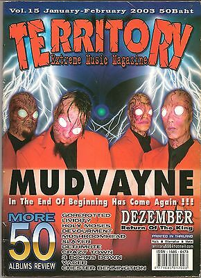 2003 MUDVAYNE Gorerotted Lividity Holy Moses Slayer Crazy Town VADER KORN RARE!!