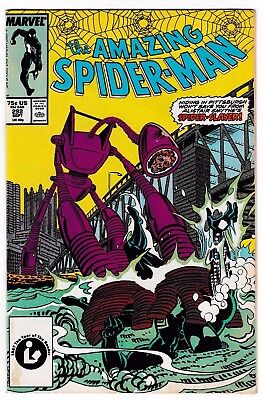 AMAZING SPIDER-MAN #292 (VF+) Spider-Slayer Cover Story Appearance! 1987 Marvel