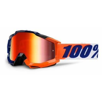 100% Racecraft Brille - Sonnenbrillen - Performance Fortis - Mirror Red Einheitsgröße y3C9EK