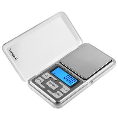 500g x 0.01g Mini Precise Digital Scale Jewelry/Food Pocket Gram LCD