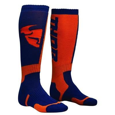 THOR SOCKS MX Motocross Socken 2018 - navy orange Motocross Enduro MX Cross