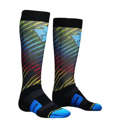 THOR SOCKS MOTO SUB Motocross Socken 2018 - schwarz multi Motocross Enduro MX Cr