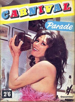 CARNIVAL PARADE Magazine, Dec 1965 - June Palmer Centre-Spread. Free UK Post