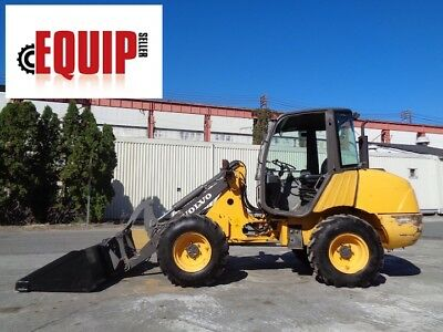 Volvo L25B-P Wheel Loader Skid Steer  - 4x4 - Diesel - Quick Attach