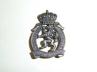 b8817 WW 2 Belgium Army in England Exile badge Belgian Army United Kingdom IR17B