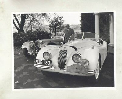1937 Jaguar SS100 1953 XK120 Coupe Alpes Rally Appleyard ORIGINAL Photo wy5134