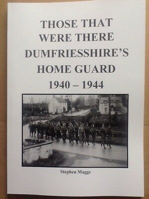 HOME GUARD WWII ANNAN GRETNA EASTRIGGS DUMFRIES Auxiliary units