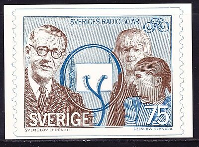 Sweden 1974 Broadcasting Maxi Card