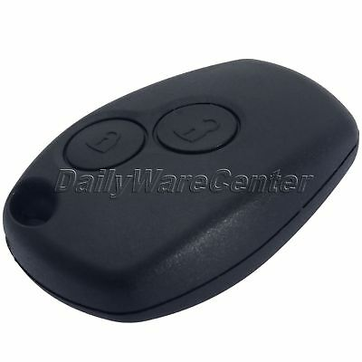 New 2 Buttons Keyless Remote Key Fob Shell Case For Renault MRodus Clio 3 Twingo