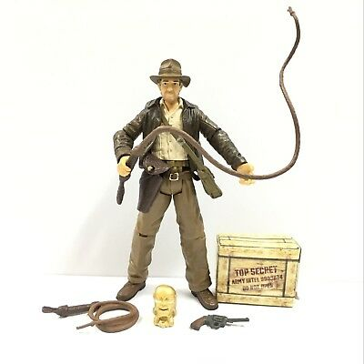 Hot Gift INDIANA JONES Raiders of the Lost Ark 3.75in.Movie Figure Boys Toy