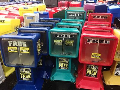 Newspaper-Magazine Boxes (Lot) - Used Various Colors