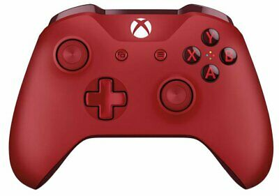 Microsoft Xbox One Wireless Bluetooth Controller 3.5mm jack - Red