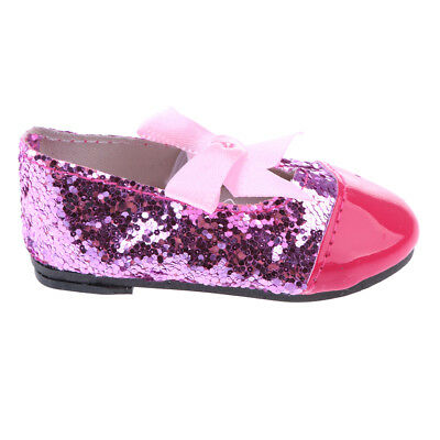 Doll shoes Bow Strap Flats for 43cm Baby Born zapf Doll Clothes Dress Up Acc