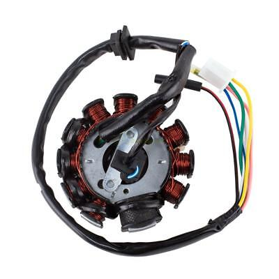 Magneto Stator 11 Poles Coil GY6 Motorcycle Scooter Moped 125cc 150cc 4-stroke