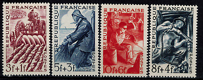 Timbres de France Poste N° 823 --> 826  Neuf **