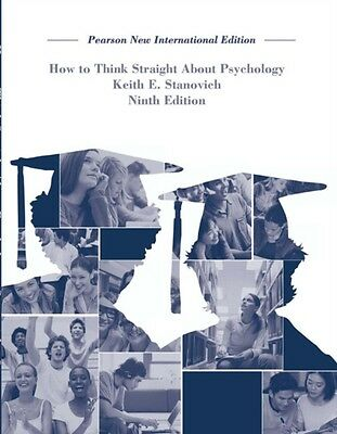 How To Think Straight About Psychology (Paperback), Stanovich, Ke. 9781292023106