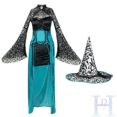 Sexy Women Halloween Cosplay Devil Witch Fancy Lace Dress Party Uniform Costume
