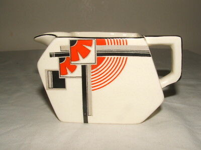 Midwinter Art Deco Abstract Design Conical Milk Jug  Truly Stunning