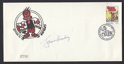 1985 33c GINGER MEGGS, Signed & Numbered FDC by artist Kemsley