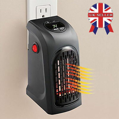 Heater Wall Outlet Handy Heater 250 sq.ft.Bathroom RV Motorhome EUPlug UK