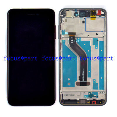 Huawei P8 Lite 2017 PRA-LX1 LCD Display Touch Digitizer Assembly Frame Black