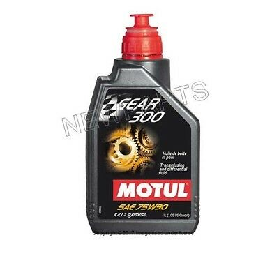 Porsche Cayenne Differential Clutch Fluid-SAE 75W-90 Synthetic Motul Gear 300