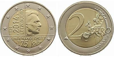 """Luxembourg 2014: """"175 Years Independence"""" mint condition from Original roll"""
